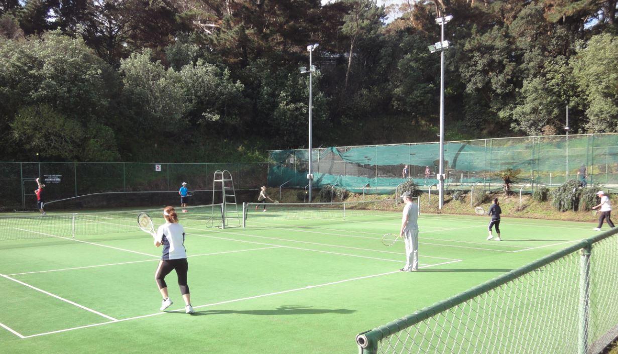 Wellington Tennis Club in Newtown